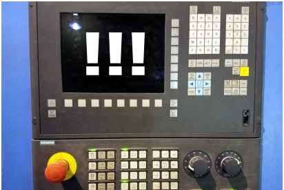 Exclamation control panel